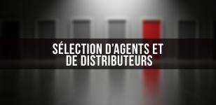 Sélection d'agents et de distributeurs